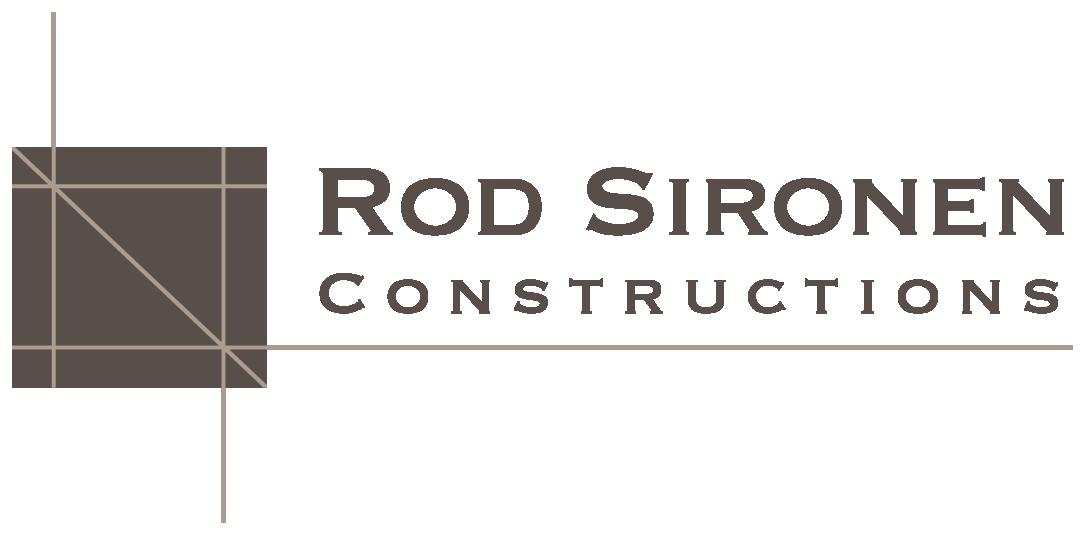 ROD SIRONEN CONSTRUCTIONS
